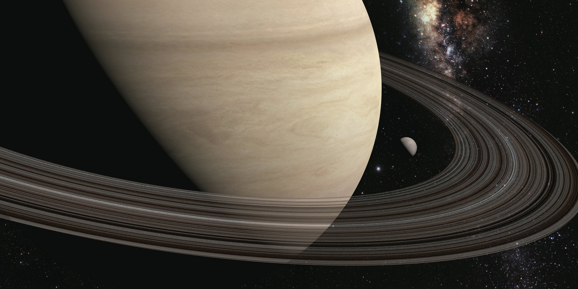 من ماذا تتكو ن حلقات زحل الفلك المرام للعلوم